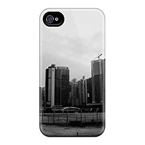 Awesome Design Deserted City Hard Case Cover For Iphone 4/4s