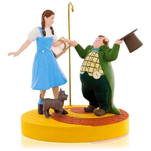 The Wizard Of Oz - Ding-Dong The Witch Is Dead! Dorothy, Toto and Munchkins Ornament 2015 Hallmark