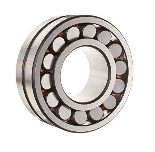 FAG 22211E1K-C3 Spherical Roller Bearing, Tapered Bore, Steel Cage, C3 Clearance, Metric, 55mm ID, 100mm OD, 25mm Width, 8500rpm Maximum Rotational Speed, 32822 lbf Static Load Capacity, 31473 lbf Dynamic Load Capacity