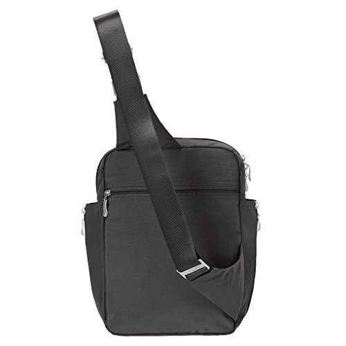 Shoulder Crossbody Messenger charcoal Organizer Bag Baggallini wgOqp1