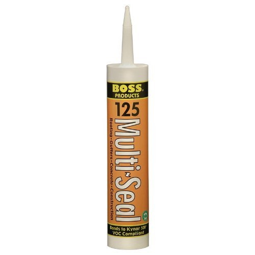BOSS 125 Multi-Seal Medium Bronze Building Construction Sealant Adhesive 10-oz Tube by Accumetric