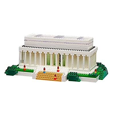 TICO Mini Bricks Landmark Series, Lincoln Memorial - T1537 - Building Block Set: Toys & Games