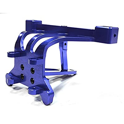 Integy RC Model Hop-ups C26197BLUE Billet Machined Front Body Post Tower & Pin Mount for Traxxas 1/10 Scale Summit