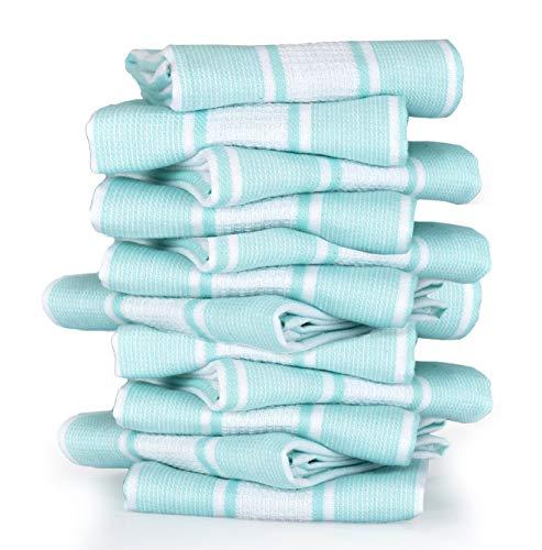 aqua dish towels - 3