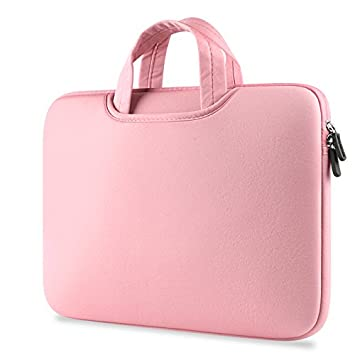 Crisant Estilo Sencillo Sleeve Funda para ordenador portátil 15-15.6 inch,Soft cotton ligero Computer Bag ...