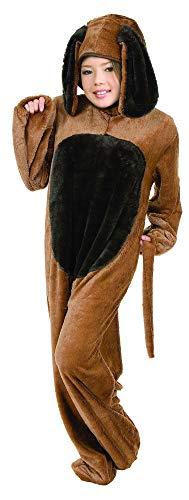 Charades Kid's Big Dog Childrens Costume, Brown, ()