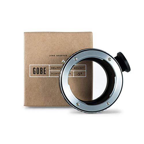 (Gobe Lens Mount Adapter: Compatible with Contax/Yashica (C/Y) Lens and Sony E Camera Body + Tripod Attachment)