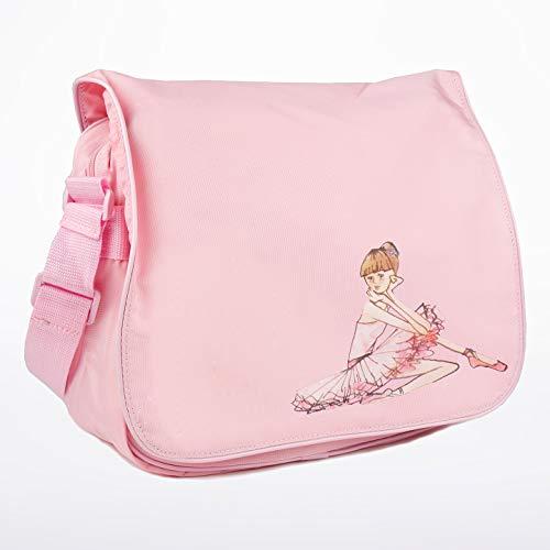 (Bloch Dance Girl's Adjustable Strap Ballerina Shoulder Bag, Light)