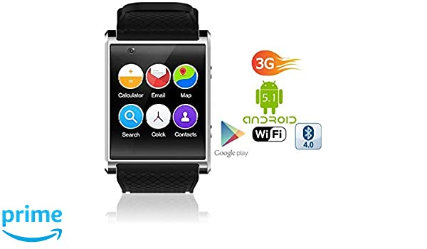 Amazon.com: Android 5.1 SmartWatch by Indigi (1.54-inch OLED ...