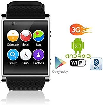 Reloj Inteligente AMOLED Android 5.1 de 1,54 Pulgadas (QuadCore ...