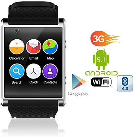 Amazon.com: 1.54-inch AMOLED Android 5.1 SmartWatch ...