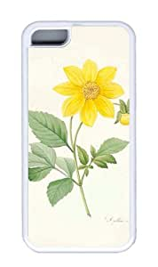 Customized Case nature flower colorful 18 White for Apple iPhone 5C