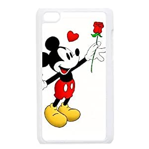 ipod 4 phone case White Mickey Mouse ZXC9570042