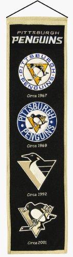 [NHL Pittsburgh Penguins Heritage Banner] (Logo Heritage Banner)
