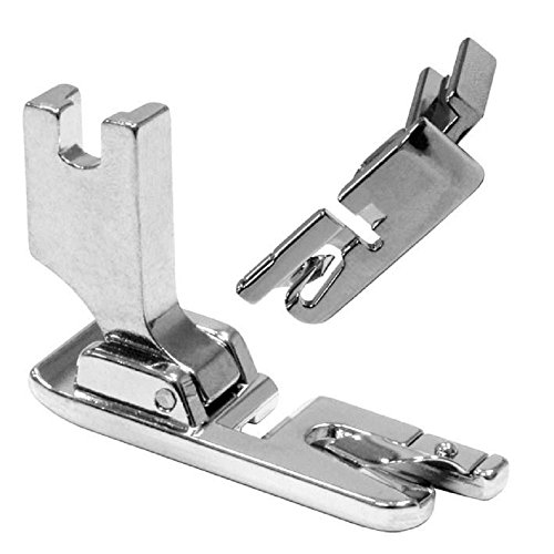 (TFBOY Low Shank Narrow Rolled Hem Sewing Machine Presser Foot 1/8 Inch - Fits All Low Shank Snap-On Singer, Brother, Babylock, Euro-Pro, Janome, Kenmore, White, Juki, New Home)
