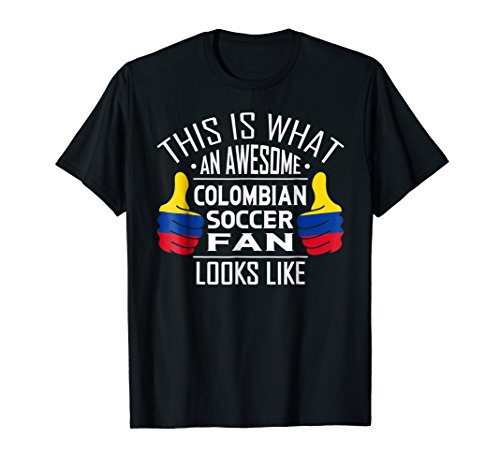 - Colombian Soccer Jersey 2018 Football Team Fan T-Shirt Gift