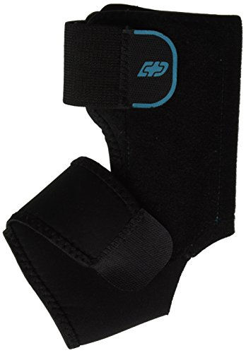 DonJoy Advantage DA161AB01-BLK-L, XL Stabilizing Ankle Brace, Lightweight Low Profile, Dual Compression Straps for Strains, Sprains, Arthritis, Adjustable to fit Large to XL, 9.5