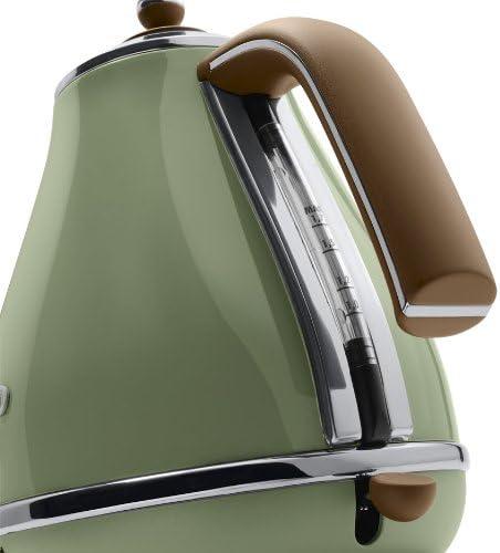 Delonghi Vintage Icona Olive Green Jug Kettle