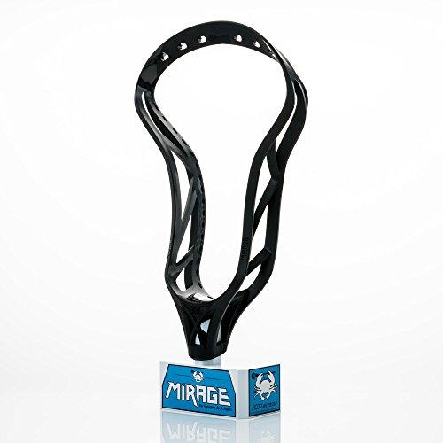 Mirage East Coast Dyes Unstrung Lacrosse Head Black 300012-1P