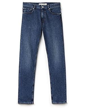 Lacoste Men's Men's Denim Jeans in Size W28 (36 EU) Blue