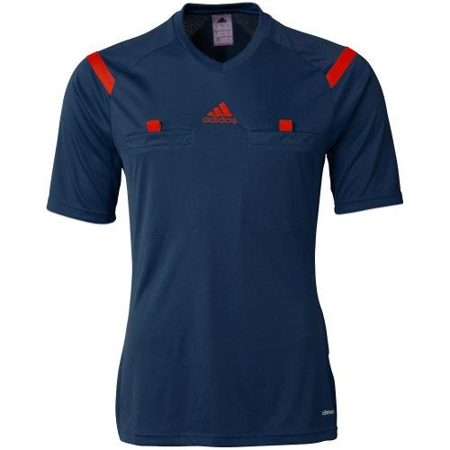 Adidas Referee 14 Mens Short Sleeve Jersey L Navy-Red ()