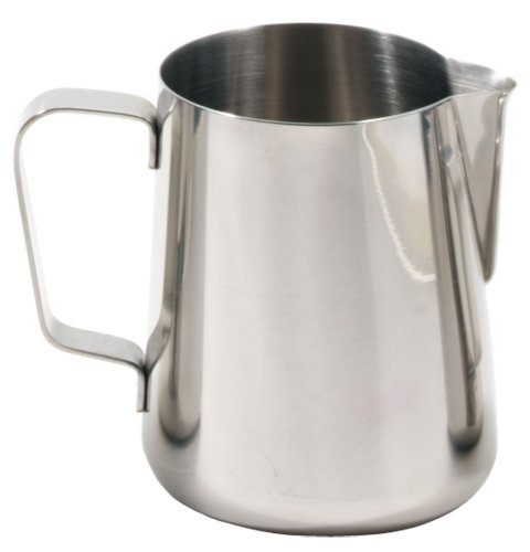 metal milk steaming pitcher - 3
