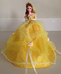Disney Parks Belle Gown Christmas Holiday Ornament NEW