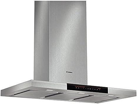 Bosch DWB091K50 - Campana (Canalizado/Recirculación, 790 m³/h, A, Montado en pared, LED, 897 Lux) Acero inoxidable: Amazon.es: Grandes electrodomésticos