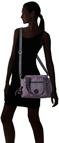 Kipling Elysia Borsa Con Maniglia Donna 29 5x23x12 5 Cm b X H T Multicolore ref34k Mini Geo