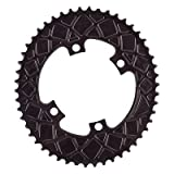Absolute Black Chainring Absoluteblack Oval 110Mm 50T 4B 2X Black - ROV50/4BK