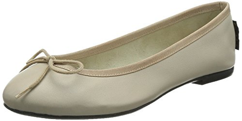 French Sole Basic Ballet - Bailarinas mujer, color Beige (Nude), talla 38