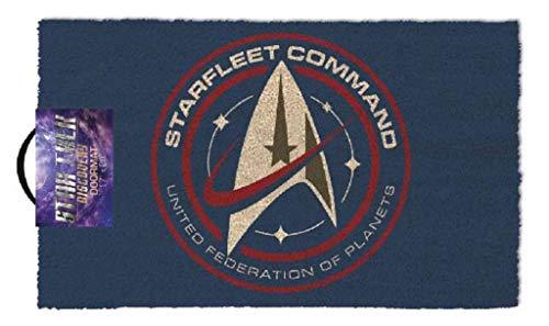- Pyramid America Star Trek Discovery Starfleet Command Outdoor Doormat Door Mat 30x18 inch