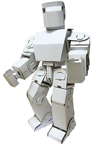Funny Paper Furniture Mini Robot Adam DIY Cardboard Toy- 7.4