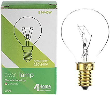 Compatible avec AEG NEFF 40 W 300 ° Degré E14 pour Cuisinière Four Lampe Ampoule