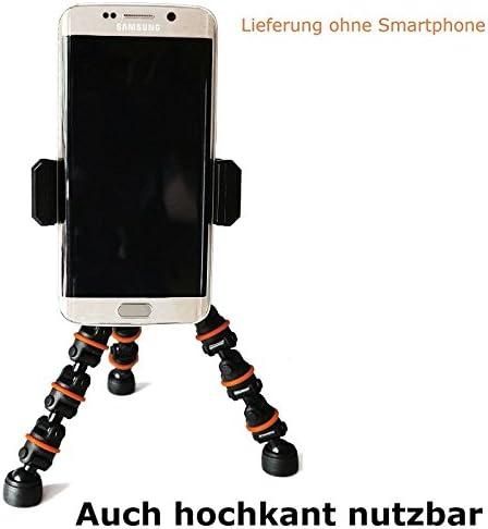 Camcoline Premium 18 cm Mesa trípode flexible iPhone trípode ...