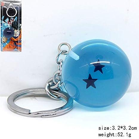 Amazon.com: YPT - Llavero de resina con diseño de bola de ...