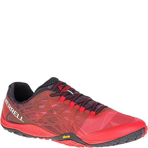 (Merrell Men's Trail Glove 4 Runner, Molten Lava, 14 M US)