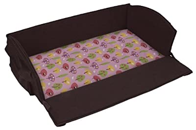 Leachco Roam 'N Holiday Anywhere Bed Replacement Sheet, Pink Forest Frolics from Leachco