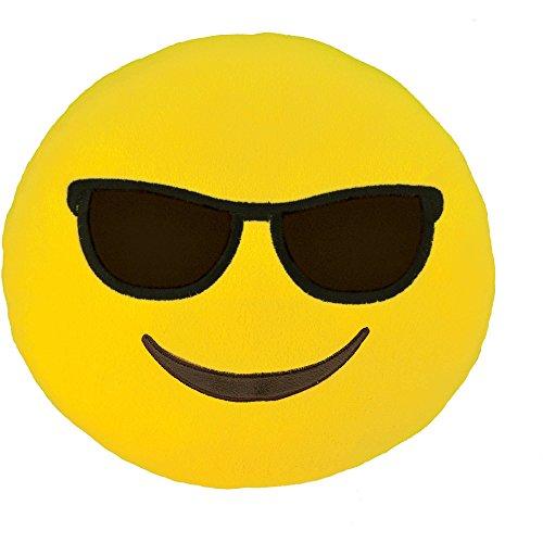 Smiley Emoticon Cushion Stuffed Sunglasses product image