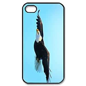 Iphone 4,4S Eagles Phone Back Case Customized Art Print Design Hard Shell Protection HG073574