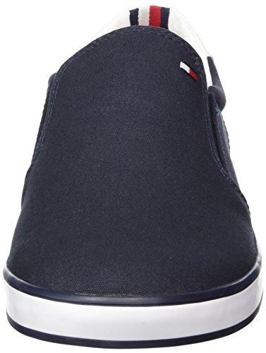 H2285arlow Ginnastica da 403 2D Basse Blu Scarpe Midnight Uomo Tommy Hilfiger UIXX5