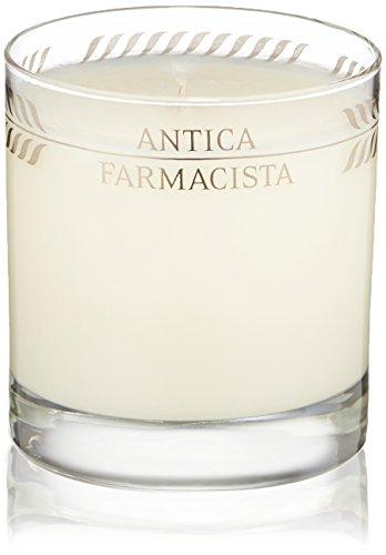 Antica Farmacista Platinum Round Candle, Sandalwood Amber,9.0 oz. (Scent Sandalwood Candle)