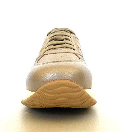 Hogan scarpe donna interactive h micropaillette modello HXW00N056406RRC210 conchiglia