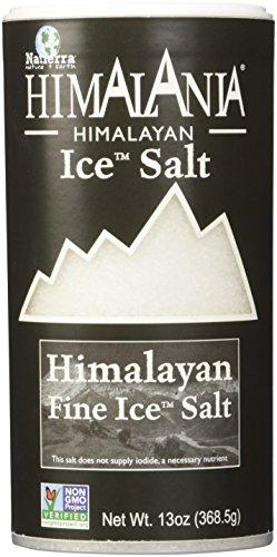 Natierra Himalania Himalayan Fine Ice Salt Shaker | Unrefined & Non-GMO | 13 Ounce