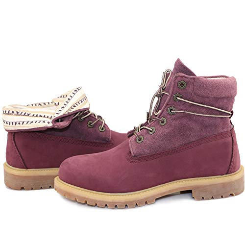High LEFT Frauen Wasserdicht Rise Wanderschuhe Revers Trekking Purple Schuhe amp;RIGHT OOEwqT6