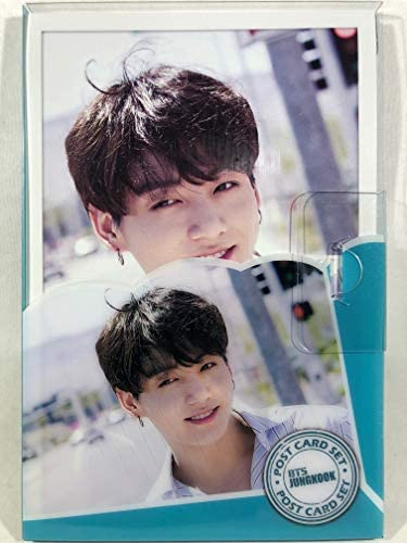 JUNGKOOK ジョングク - BTS 防弾少年団 グッズ / プラケース入り ポストカード 16枚セット - Post Card 16sheets (is included in a Plastic Case) [TradePlace K-POP 韓国製]