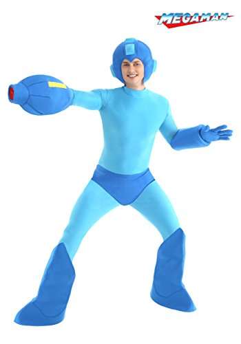 Adult Megaman Costume Medium