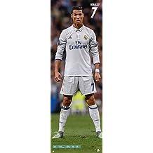 Real Madrid Door Poster - Cristiano Ronaldo [Season 2016/17] (53cm x 158cm) + plus white fabulous protective gift tube