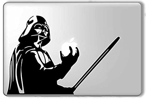 Darth vader star wars macbook pro air sticker decal vinyl skin design by mac tatt