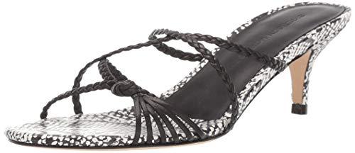 (Sigerson Morrison Women's FYONA Heeled Sandal, Black, 37.5 M EU (7.5 US))